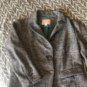 Ann Taylor Loft Petite Herringbone Jacket